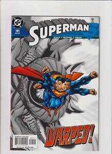 Superman #191 NM- 9.2 DC Comics 2003
