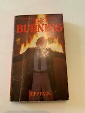 1981 The Burning by Jeff Fain Leisure Paperback