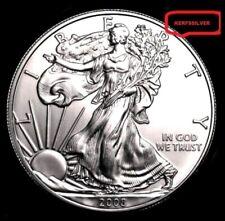 New Listing2008 American Silver Eagle 1 Oz. 999 Pure Fine Silver Bullion Coin [Bu - Unc]