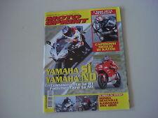 Motosprint 9/2002 Kawasaki zrx 1200/Yamaha r1/honda deauville/Benelli velvet 150