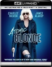 Atomic Blonde 4K UHD 4K (used) Blu-ray Only Disc Please Read