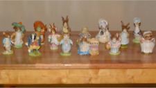 Peter Rabbit Figurines and Book Library