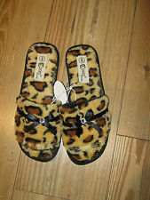 Women's Animal Print Slippers