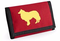 Rough Collie Gift Wallet Rip-Stop Colour choice Purse Birthday Gift