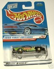 1998 Hot Wheels 1st Editions #18 Mustang Cobra #665 glw