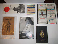 MEDIUM PRIORITY BOX FULL OF HISTORICAL & COLLECTIBLE BOOKLETS & MORE -#8
