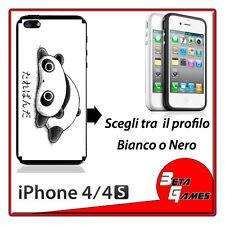 Tare Panda COVER RIGIDA CUSTODIA IPHONE 4 E 4s