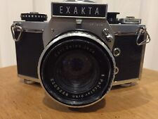 EXAKTA VX1000 35mm SLR VINTAGE CAMERA AS IS