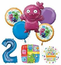 Mayflower Products Ugly Dolls Party Supplies 2nd Birthday Balloon Bouquet Decor