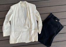 Vtg 1940s Palm Beach Suit Jacket Goodall-Sanford sz 44 w/ Pants 36 X 29