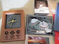 SuperBowl Memorabilia Lot, 1988, 1986, 1990 and Hall of Fame Clock and Dish