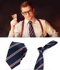 USA Kingsman The Golden Circle Harry Hart Eggsy Cosplay Necktie Kingsman Tie