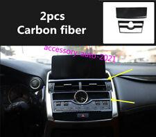 For Lexus NX200t/300/300h 2015-2019 Carbon Fiber Center Console Panel Cover Trim
