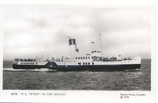 Ryde in the Solent Paddle Steamer Modern Postcard by Pamlin M98