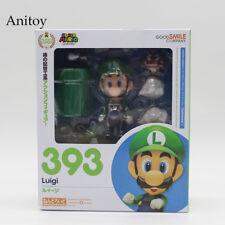Nendoroid Super Mario Luigi 393 PVC action figure collectible model toy 10cm