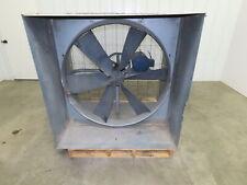 Penn Ventilation 42in3hp Belt Drive Wall Exhaust Fan Withcabinet 208 230460