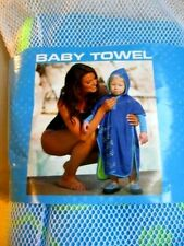 Aqua Sphere Michael Phelps Baby Swim Towel Pool Beach Bath Light Blue 253654 New