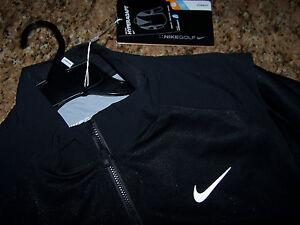 Nike Men's HyperAdapt Storm-FIT 1/2 Zip Golf Jacket 687030 010 MSRP $275 - S -