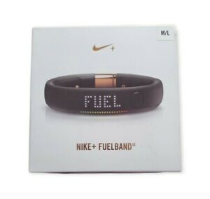Nike Fuelband Size M/L Color Rose Gold Activity Tracker Bluetooth Water Res $169