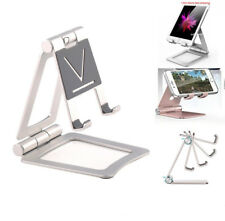 Adjustable Tablet Stand Desktop Mount Aluminum Holder For iPad iPhone Phone Pad