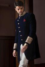 Mens New Designer Wedding Grooms Indowestern Jodhpuri Bridal Velvet Coat Jacket