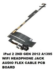 IPad 2 2ND Gen 2012 A1395 Wi-Fi Cuffie Jack Audio Flex Cable SCHEDA PCB