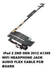 iPad 2 2ND GEN 2012 A1395 WIFI HEADPHONE JACK AUDIO FLEX CABLE PCB BOARD