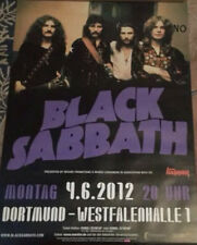 Black Sabbath Rare 2012 A1 84cm Dortmund Konzert Plakat Concert Tour Poster