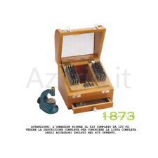 Punzoniera di precisione 52 pz. custodia legno punzoni acciaio Pearl Anchor tool