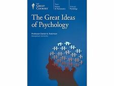 The Great Courses ~ The Great Ideas of Psychology ~ DVDs/Book ~ Brand NEW!