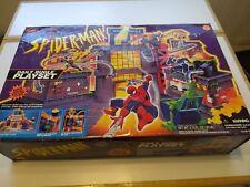 RARE VINTAGE 1995 SPIDERMAN DAILY BUGLE PLAYSET TOY BIZ MARVEL NEW MIB !