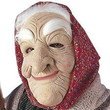 Hexenmaske Gummimaske Alte Frau Oma Dame Maske Hexe Omamaske