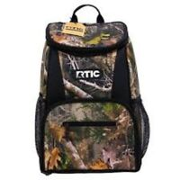 NWT RTIC Day Cooler 15 Can Backpack, KANATI CAMO