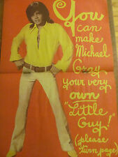 Michael Gray, Shazam, Two Page Vintage Centerfold Poster