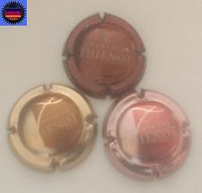Lot 3 capsules de champagne Thienot Grafito 2