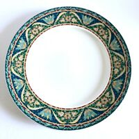 "Mikasa San Marco 12"" Chop Plate Round Platter Blue Mosaic Bone China DX 006"