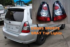 For Subaru Forester Cross Sports Gray Tail Lights JDM SG5 SG9 Pair OEM