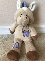 HTF Baby Ganz Rodeo Friends Brown Horse Pony Stuffed Plush Toy BG2727 Western
