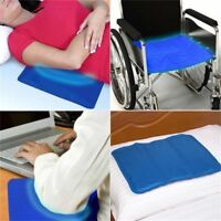 Sleeping Pad Cooling Gel Pillow Comfort Yoga Aid Body Elbow Chilled Bed Dog Mat