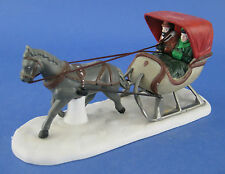 Department 56 Heritage Village One Horse Open Sleigh Figurine #5982-0