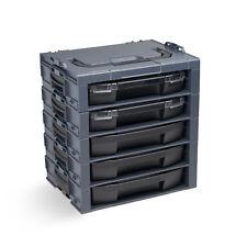 Bosch Sortimo I-BOXX Rack 5fach anthrazit  bestückt
