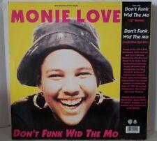 """Monie Love - Down 2 Earth 12"""" 33RPM Vinyl Record 0-40049"""