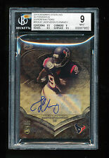 BGS 9 JADEVEON CLOWNEY 2014 BOWMAN STERLING SUPERFRACTOR REFRACTOR AUTO RC # 1/1