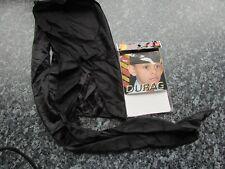 Hair durag bandana junior boys tie down black sport skull cap polyester fabric