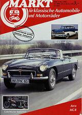 Markt 5/86 1986 NSU TT 1200 NAG MG B Arco BMW 501 502 Ford Taunus 17M P2 J Faber