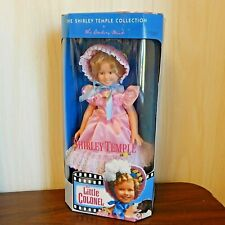 """SHIRLEY TEMPLE in LITTLE COLONEL 1996 Danbury Mint 14"""" Vinyl Doll, NRFB"""
