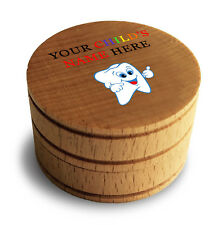 Custom Personalized Printed Keepsake Tooth Box My First Tooth Fairy Box New