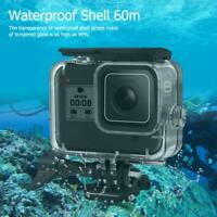 for GoPro Hero 8 Camera Case Waterproof 60m Underwater Protective Housing Cover