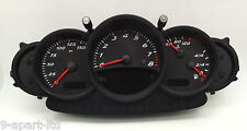 GENUINE PORSCHE 986 BOXSTER BLACK DIAL INSTRUMENT CLUSTER FOR 5 SPEED MANUAL