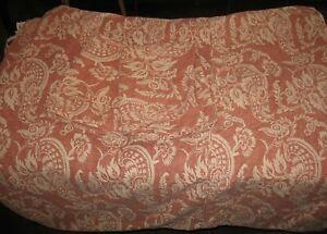 3 Pc Set Pottery Barn Alessandra Terra Cotta Full Duvet Cover w/Standard Shams